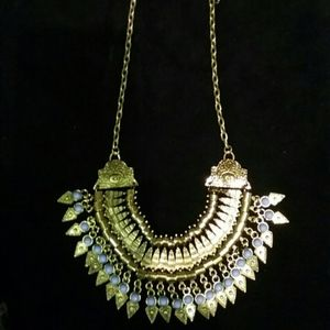 Jewelry - Gold Costume Collar Bib Egypt Necklace Halloween